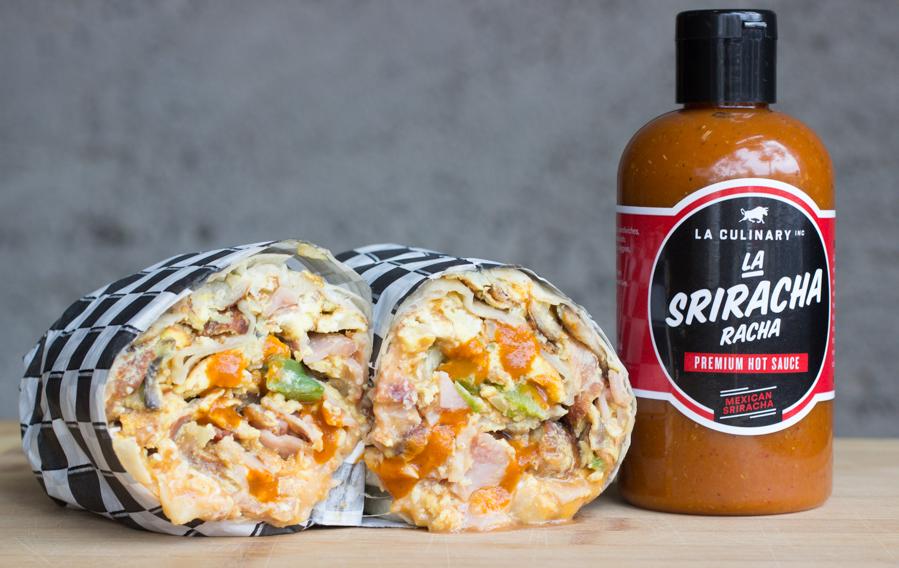 La Sriracha Racha Mexican Asian Hot Sauce