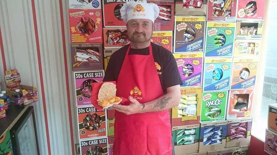This Guy Opened A Magical Sandwich Shop Specializing In Potato Chip Sandwiches