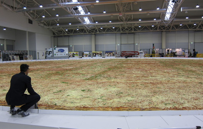 Largest Gluten-Free Pizza