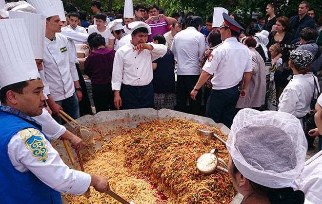 Largest Serving of Lagman Soup