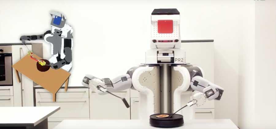 PR2-Cooking-Robot