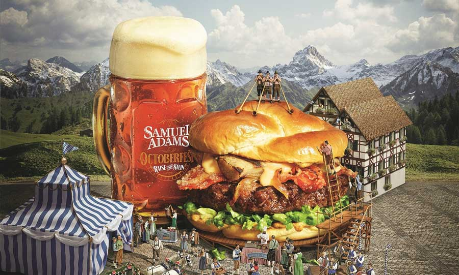 Red Robin Launches Boozy New Oktoberfest Menu, Features An 'UberBurger'