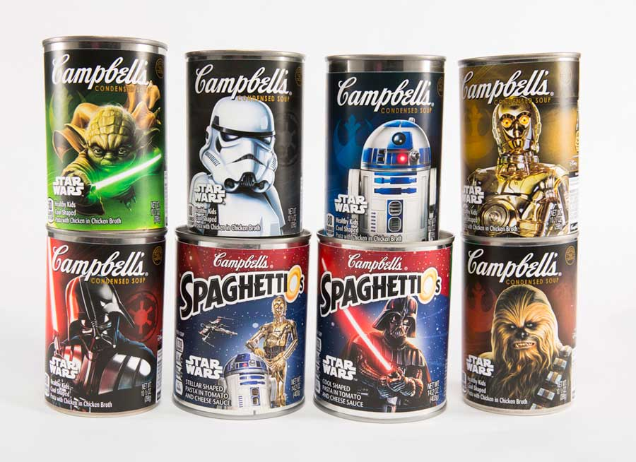 Campbell's Is Excited For Star Wars Too, Makes Limited Edition SpaghettiOs