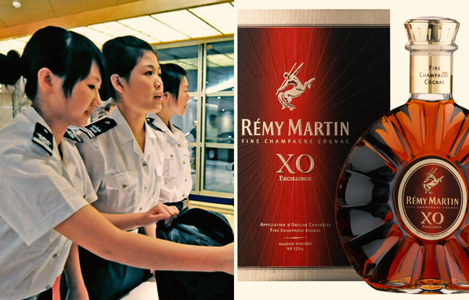 Chinese Woman Chugs Entire $200 Bottle of Cognac That Was Too Big for Carry-On