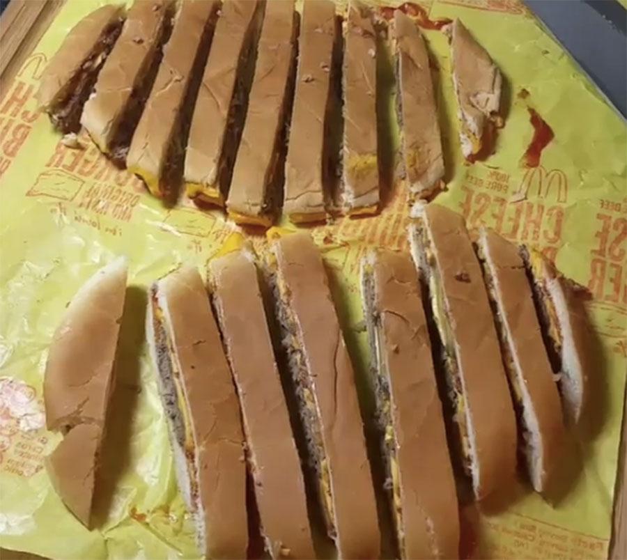 Brilliant 'McFry' Recipe Involves Dicing Up McDonald's Cheeseburger