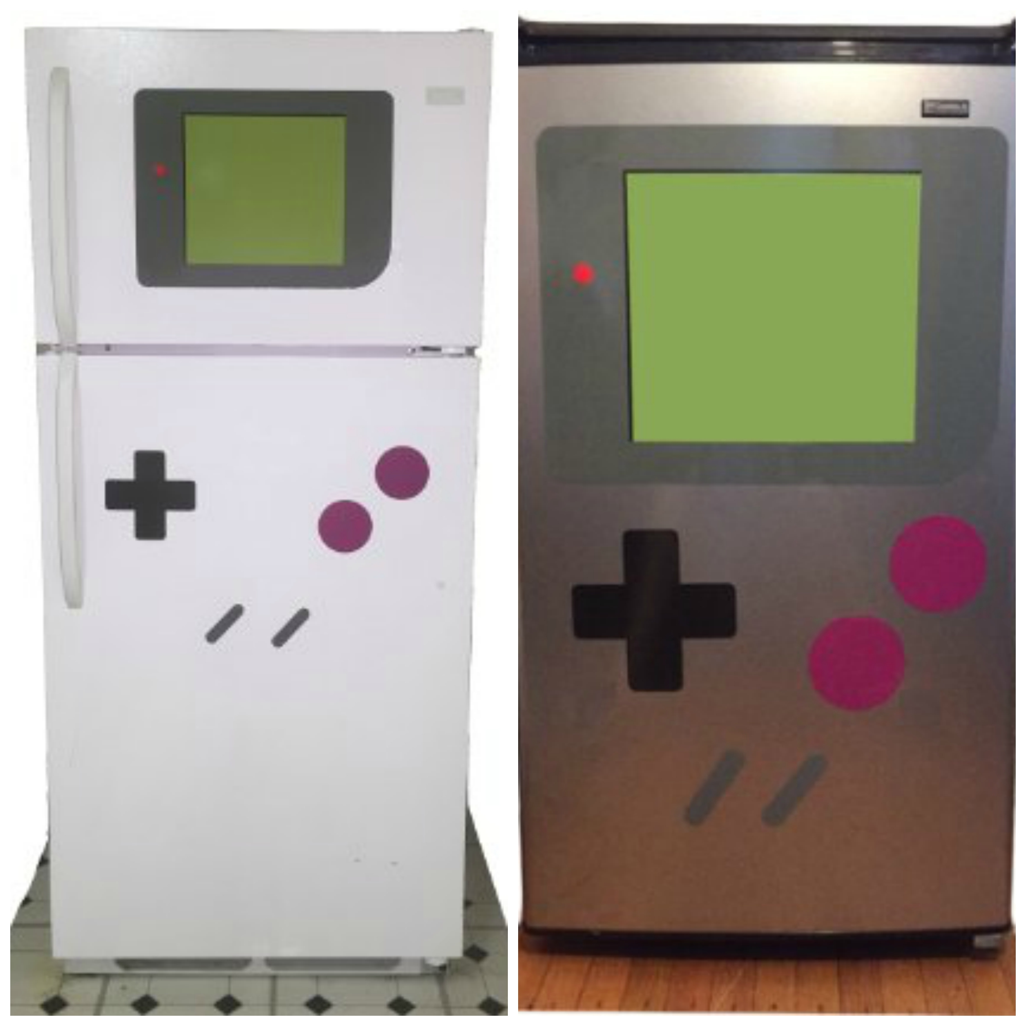 These Geeky Magnets Turn Your Fridge Into A Gameboy