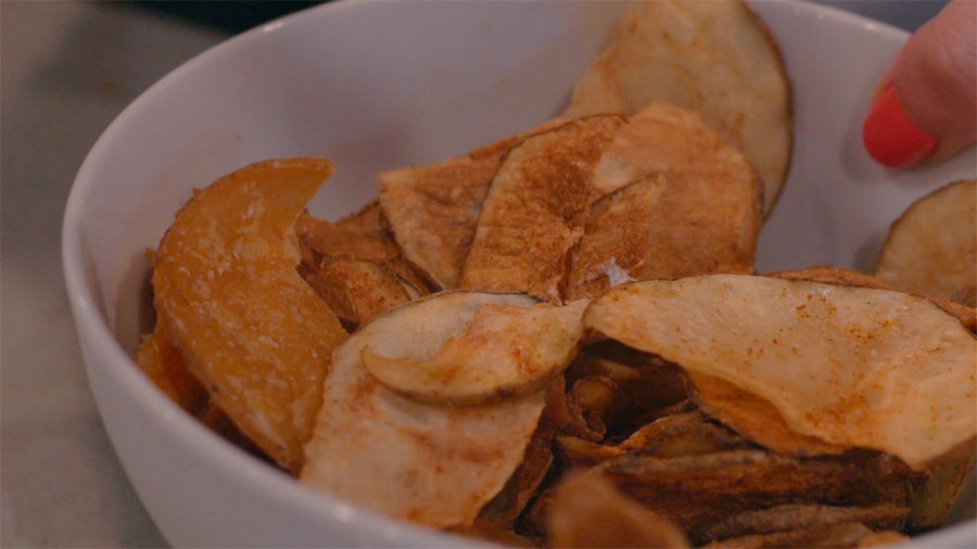 potato-chips-in-microwave