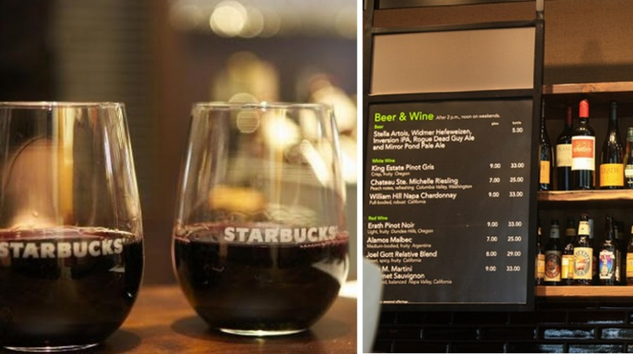 Starbucks Now Serving Beer And Wine At 70 Locations