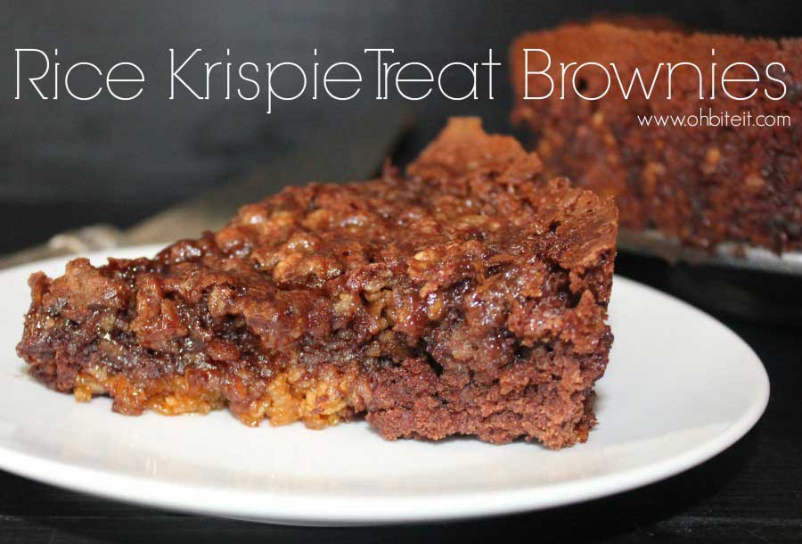 How To Infuse Your Rice Krispie Treats With Brownies