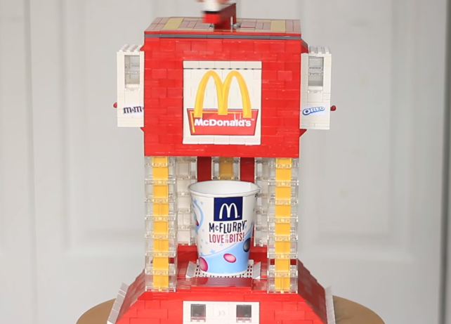 These Candy And Drink Dispensers Are Made Completely Out Of Legos