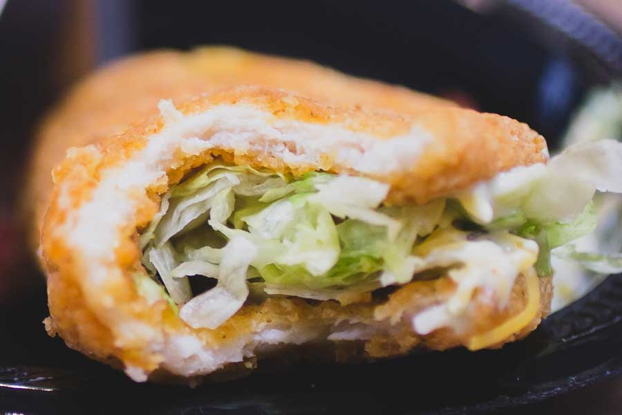 EXCLUSIVE: First Look At Taco Bell's NAKED CRISPY CHICKEN Shell