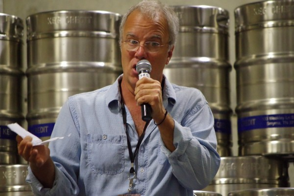 Tony Magee at the CA Craft Beer Summit