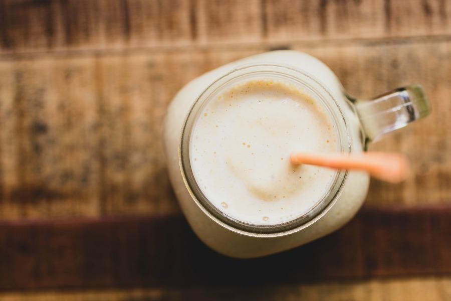 CF Peach Bourbon Milkshake