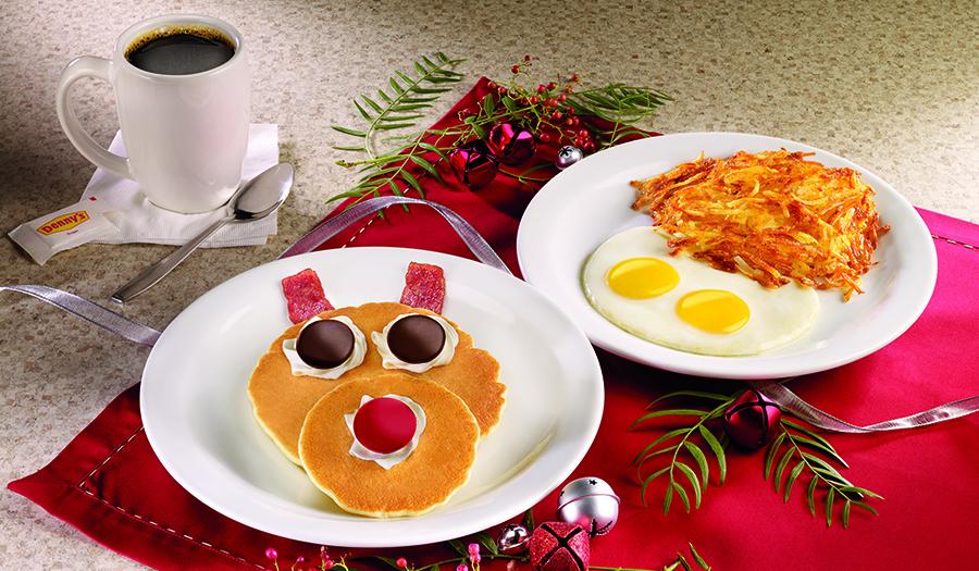 Dennys Xmas Breakfast
