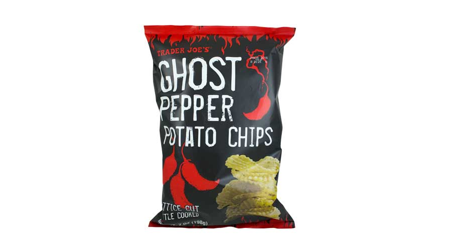 Trader Joe's Adds Spooky Hot GHOST PEPPER POTATO Chips To Shelves