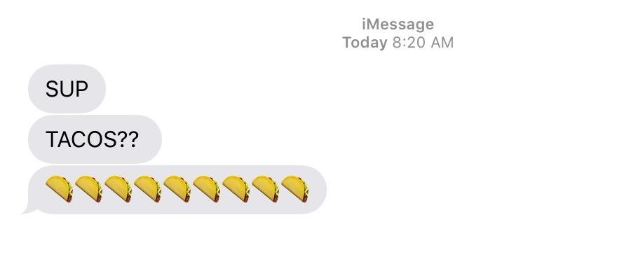 Taco Emoji 2015