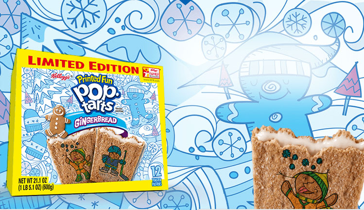 Pop-Tarts' New Gingerbread Flavor Gets You In The Holiday Spirit