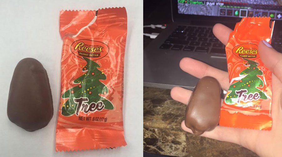 Fans Shame Reese's Over Christmas Tree Peanut Butter Cups That ...