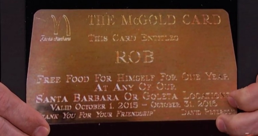 McDonald's Has A Coveted Gold Card That Gives Free Food To