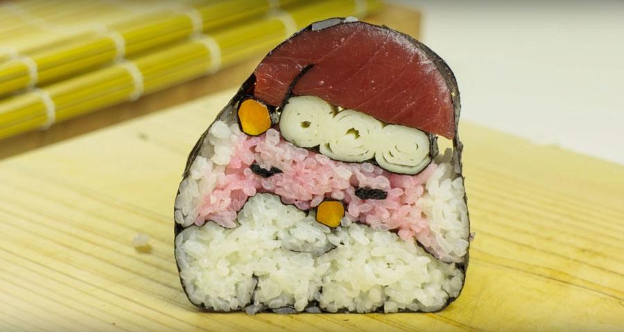 Santa-Sushi-Make-Sushi