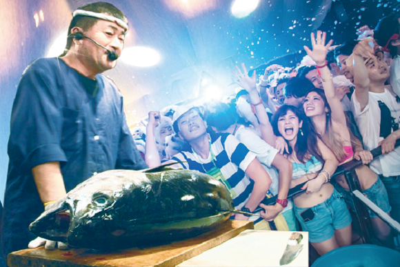 This Club Will Carve Up An 88-Pound Tuna And Feed It To Hungry Ravers