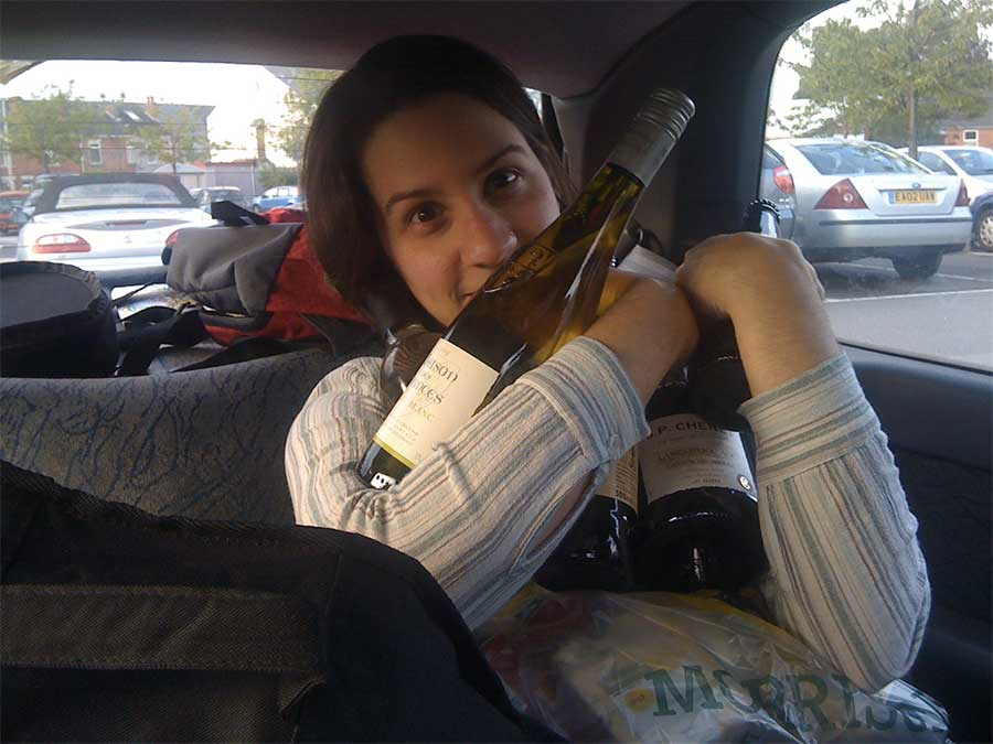 public-drinking-wine-bottles