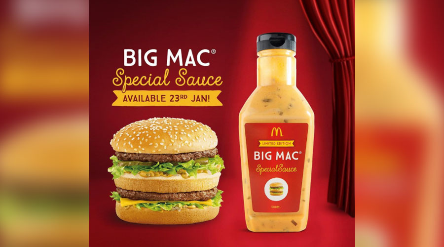 Big Mac Thousand Island Dressing