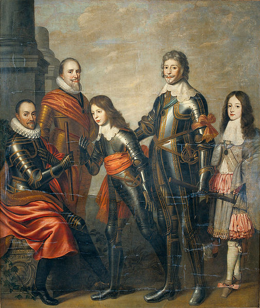 Nason_Pieter_attributed_to_-_Four_generations_Princes_of_Orange_-_William_I_Maurice_and_Frederick_Henry_William_II_and_William_III_-_1662-1666
