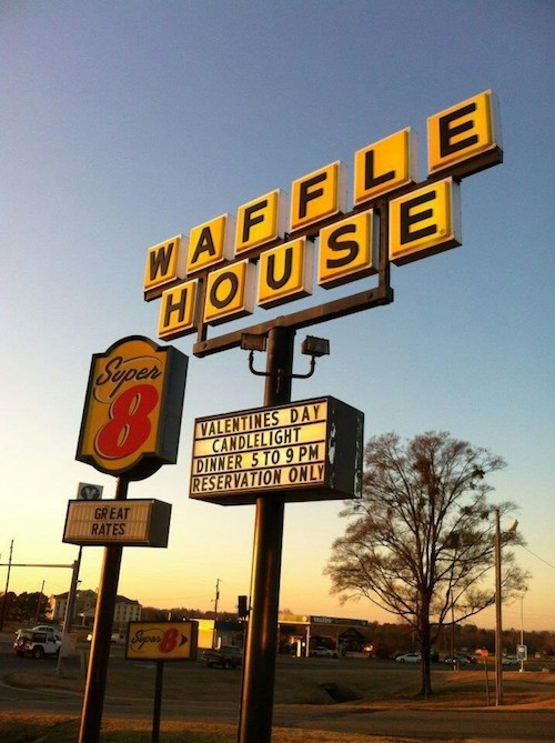 Act Like A Boss On V-Day And Take Your Date To The Waffle