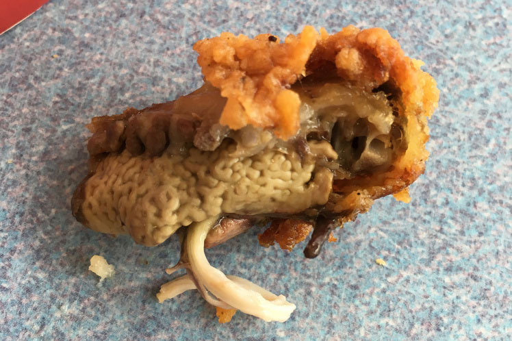 Man Finds A Deep-Fried 'Lung' In His KFC Meal
