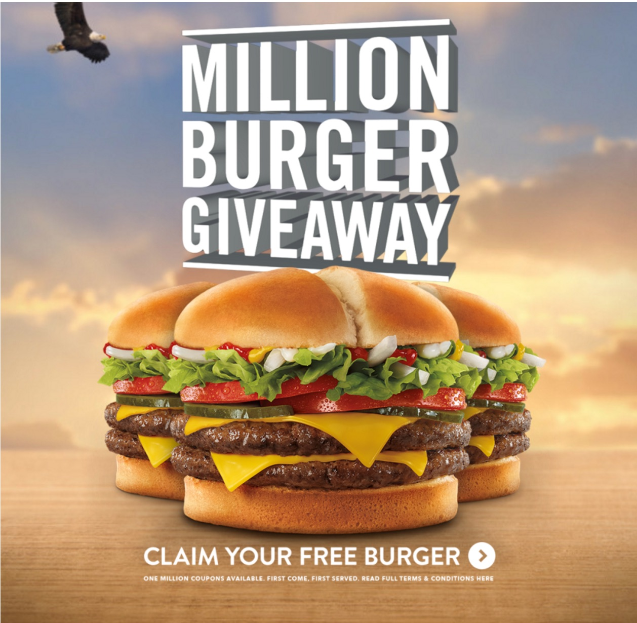 Jack In The Box Is Giving Away One Million FREE Burgers