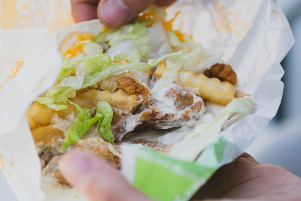 BOLD chorizo fish taco