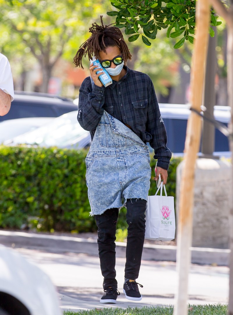 Jaden Smith Swears His Water Bottle Doubles As A Cell Phone