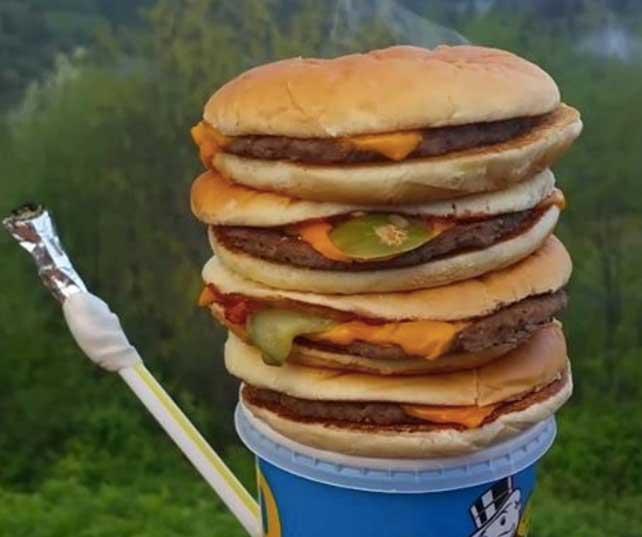 McDonalds pipe mère fille lesbiennes porno