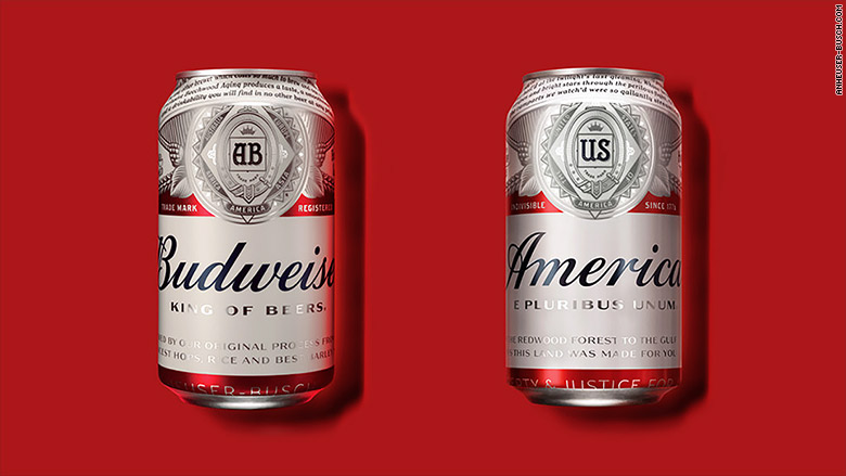 Budweiser Changes Its Name to 'America' in Anticipation of the Most American Summer Ever