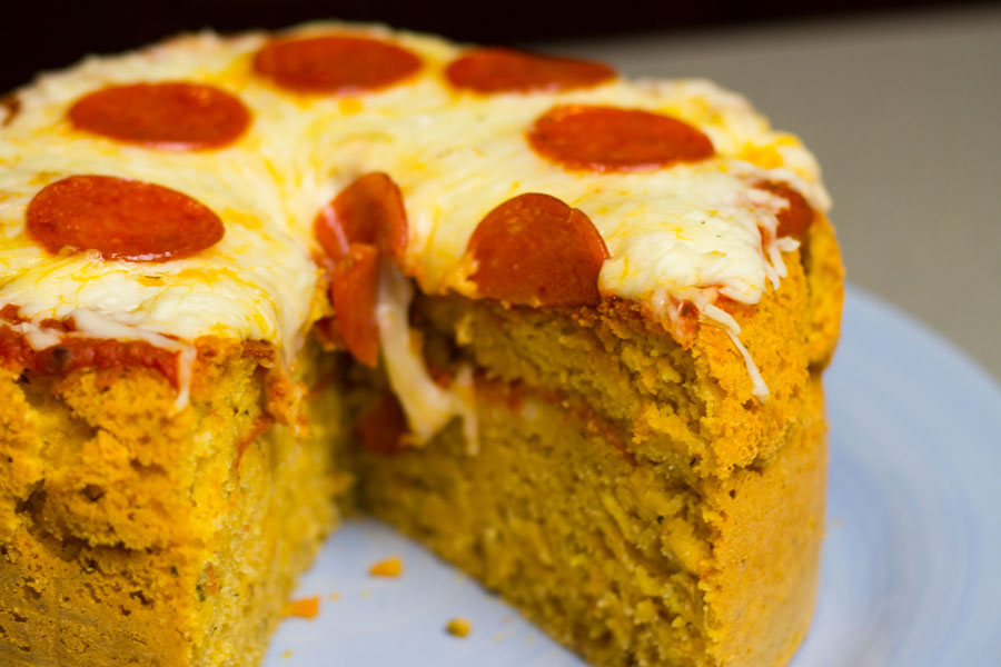 This Pizza Cake Was Made In A Rice Cooker Here S How