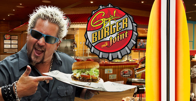 Guy Fieri Said We Could Build Our Own Burger At His Restaurant Challenge Accepted