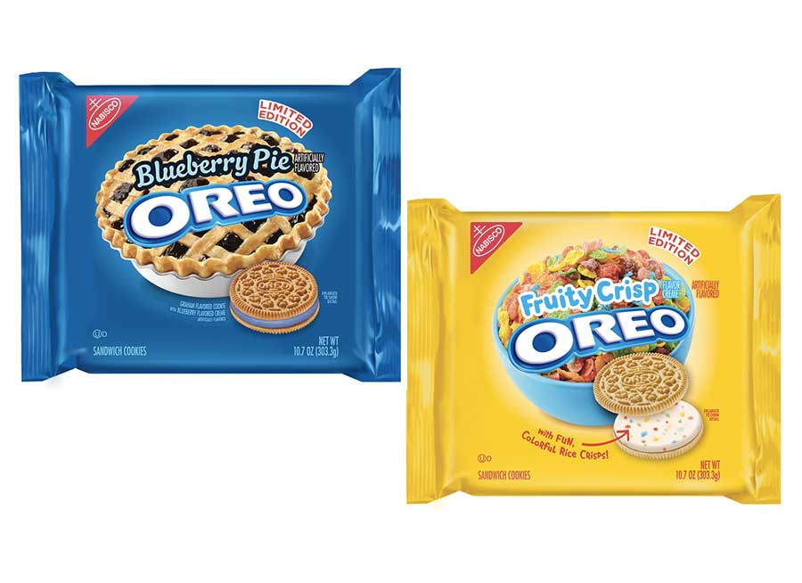 NEW OREO FLAVORS: Blueberry Pie & Fruity Crisps
