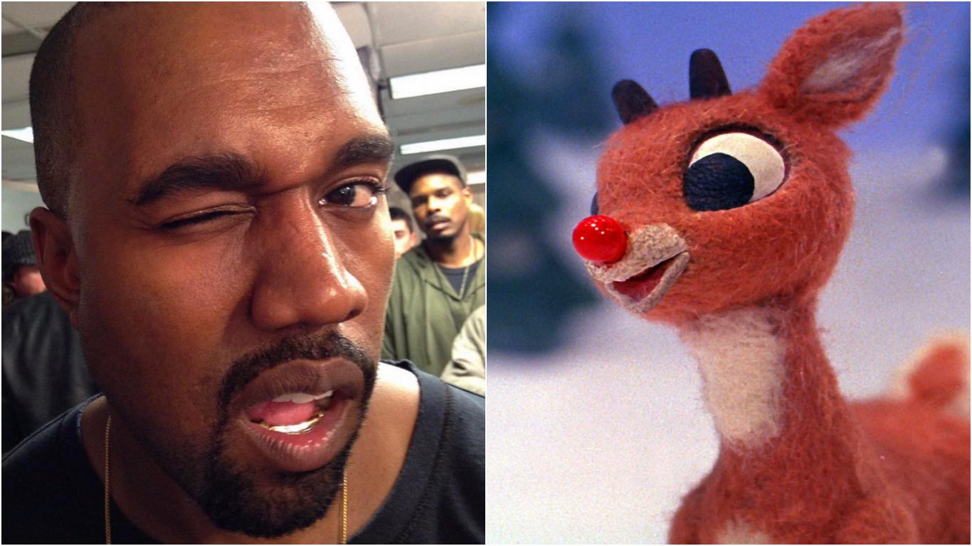 Kanye Tastes Reindeer Meat For First Time: \'It Tastes Like Christmas\'