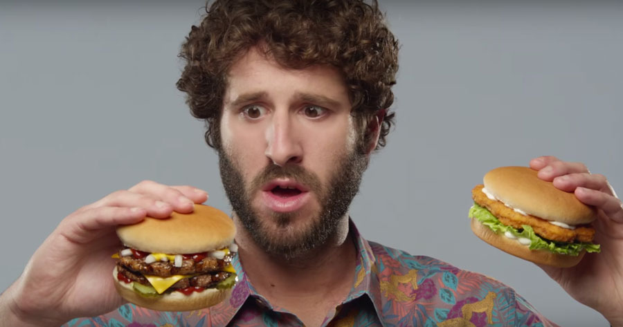 The New Carl's Jr. Commercial Features Lil Dicky Sensually Eating Burgers