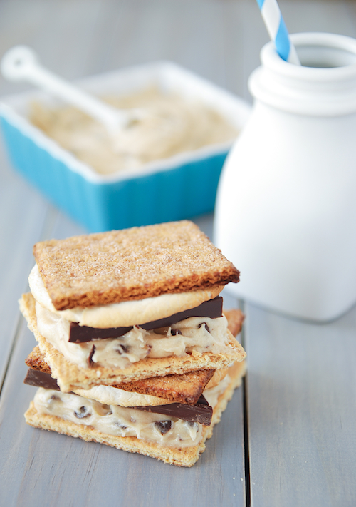 Cookie Dough S'mores