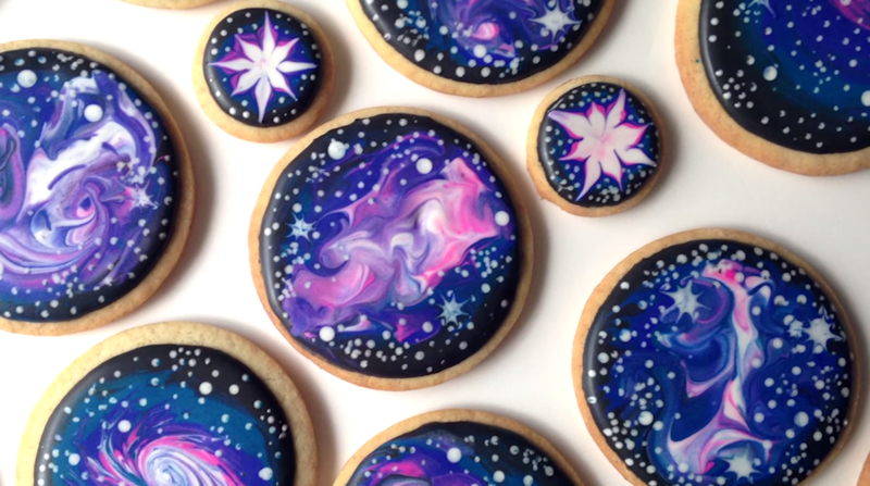 eat like a deity galaxy printed desserts are the latest