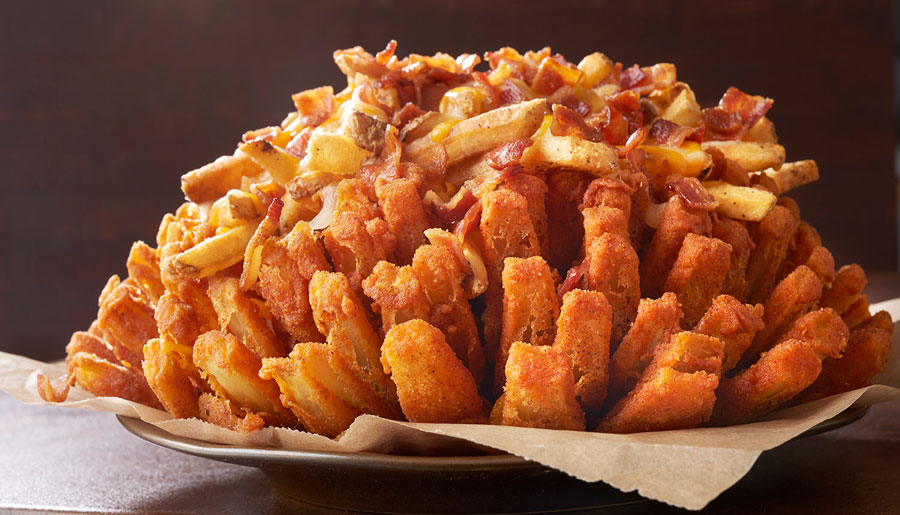 Outback Just Loaded Their Bloomin' Onion In The Best Possible Way