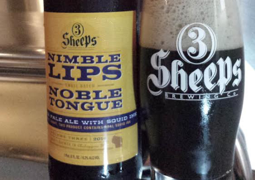Nimble Lips Noble Tongue Pale Ale W: Squid Ink