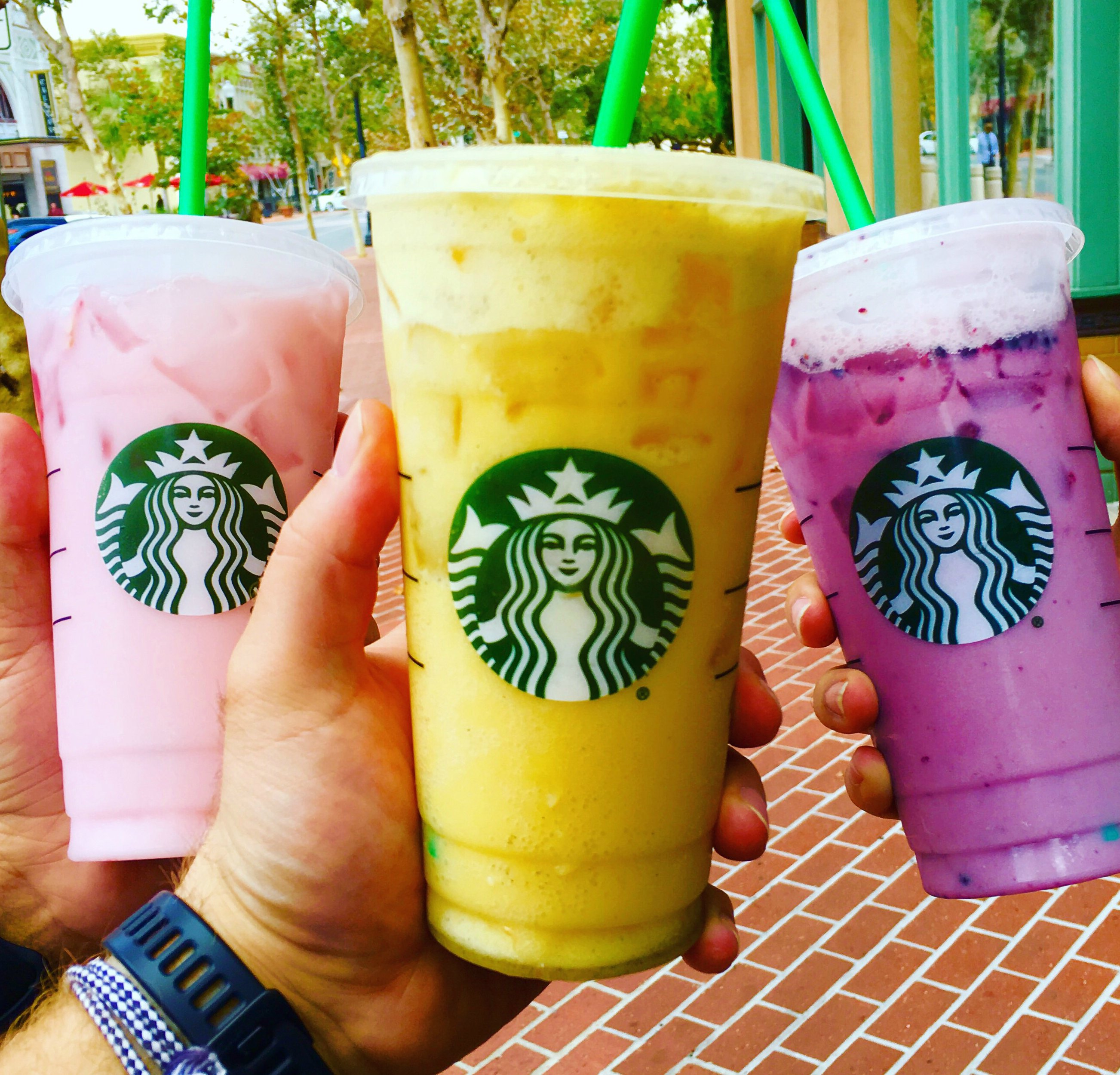 orange drink starbucks the orange drink is starbucks colorful creation 12174
