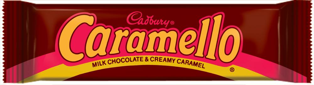 caramello chocolate bar