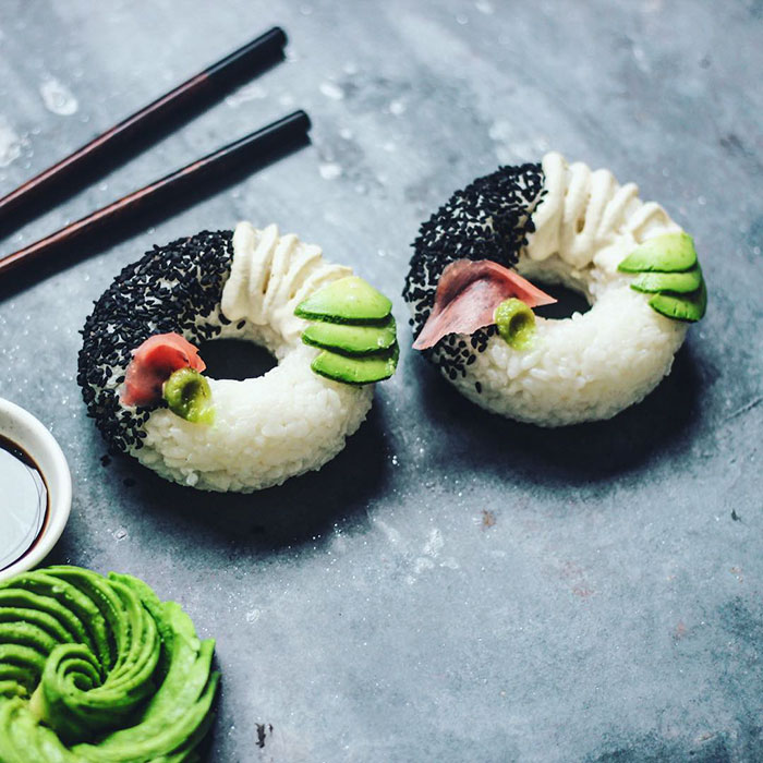 'Sushi Donuts' Are The Latest Sushi Trend, And You Can Make Them At Home