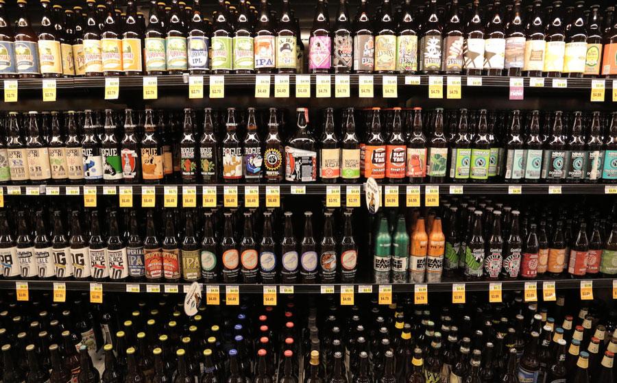 beer-shelves
