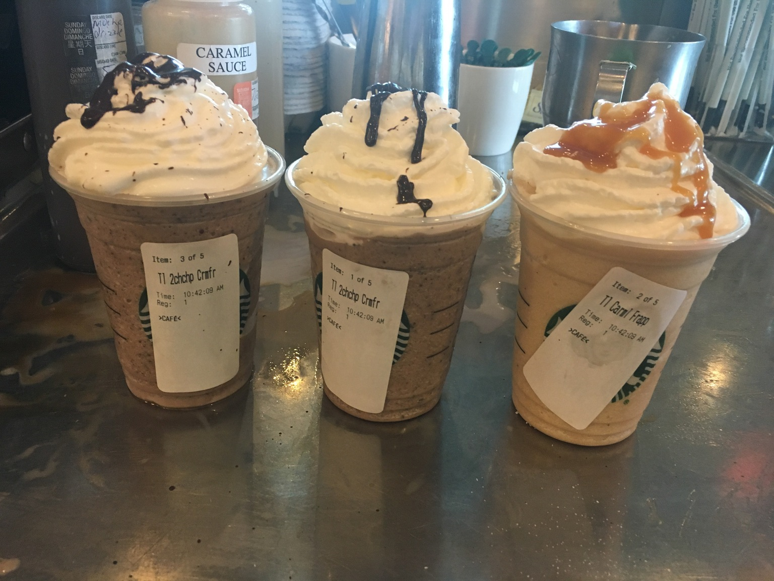 The Messed Up Reason Starbucks Baristas Are Putting Stickers On Your