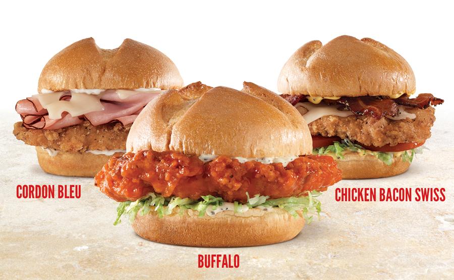 Roast Beef Sandwich Fast Food